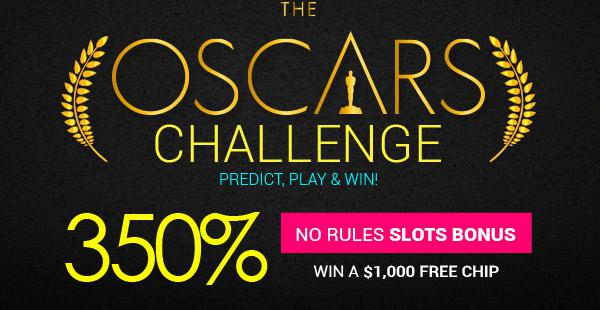 The Oscars Challenge - Win 1,000 USD